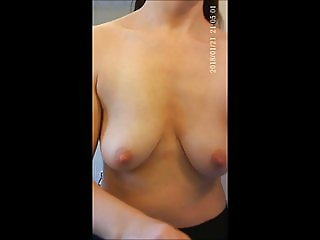 hidden cam swinging naked tits of my wife wonderful nipples