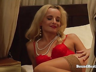 The Education of Erica:Lesbian Maid Undressing Her Mistress