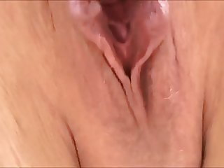 Pissing outdoor and licking