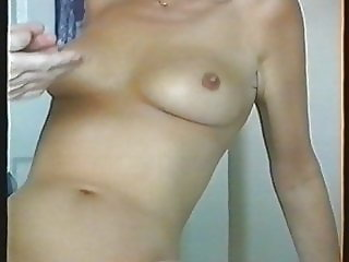 Massaging milfs oiled breasts