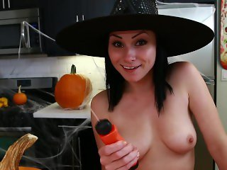Naked In Public: Pumpkin Party