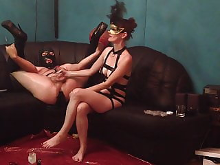 My Sexy Mistress Fuck Sissy Slave Hard With Dildo Strapon