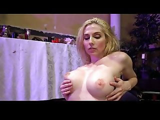 Hot Blonde In Double Penetration Gangbang