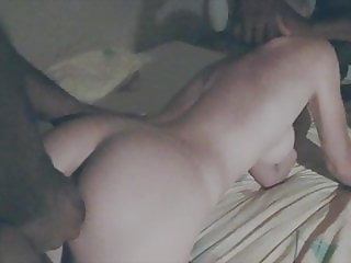 Hotwife Jenna fucked by 2 black university students