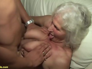 75 years old grandma first porn video