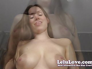Lelu Love-POV Front And Reverse Cowgirl Riding Challenge