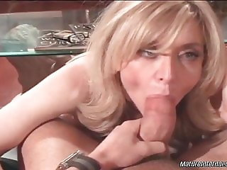 Nina Hartley fucks her son's best friend!