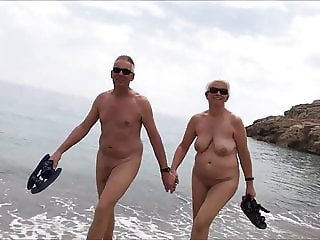 Naked Beach Couple