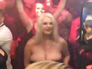 huge tits model chloe michelle in a party
