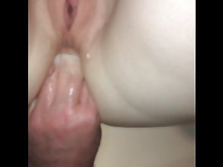 Fisting and fucking my sexy GF arse.