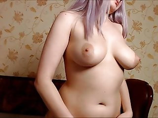 Fucking her bitch girlfriend and face cumshot on cam