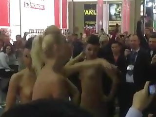 Russian Strippers at Shop Launch