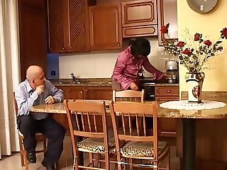 Old Italian couple does porn