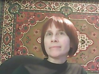 Russian mature with great tits teasing webcam