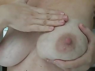Her Tits Are Engorged and Full of Milk