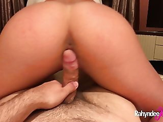 Rahyndee James Hot Hotel Fucking And Cock Sucking HD