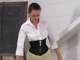 English Governess Canes in Jodphurs Pt 1