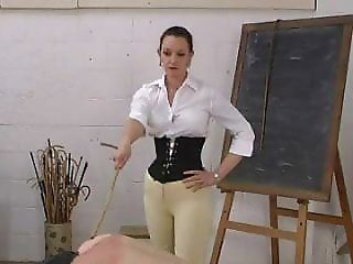 English Governess in Jodphurs Canes Pt 2