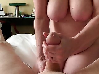Kind hands, friendly tits
