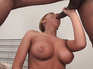 Lovely Teen With Big Tits Pounded Anally By BBC