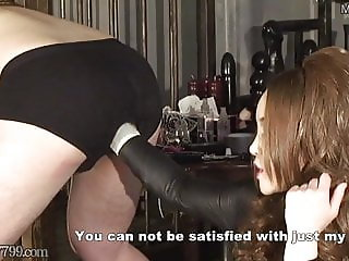 Japanese Femdom Kira Deep Anal Fisting and Pegging Strapon