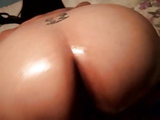 Mexicana bbw oiled ass