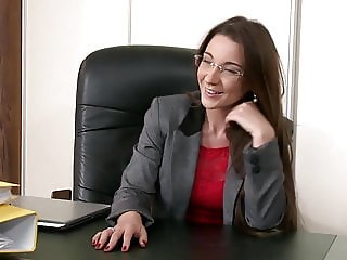Cumming In The Boss's Mouth
