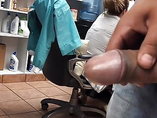 jerking to milf