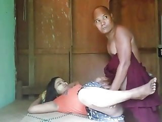 Burmese mom fucked by bald friend 1