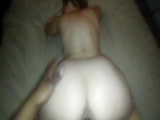 BBC hitting vixen hotwife from behind.  Stretching her deep