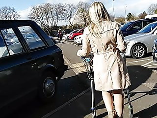You are Allowed To WANK your allowed to Cum (LEGGY BLONDE)