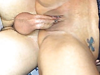 Wife takes xHamster stranger monster cock creampie
