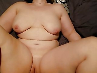Busty housewife fucks and swallows cum