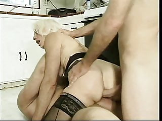 Kathy Jones Threesome (Mature Kink 5)