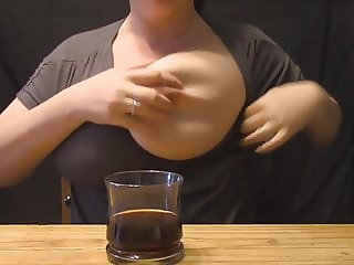 Lactating in coffee