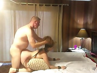 Naughty Submissive MILF Pounded By Boss On Business Trip