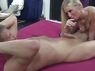 Naughty MILF Cheating On Her Husband with New Young Student