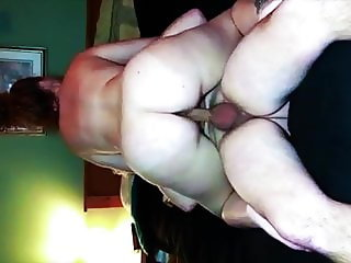 Mature wife Rusty riding cock late at night