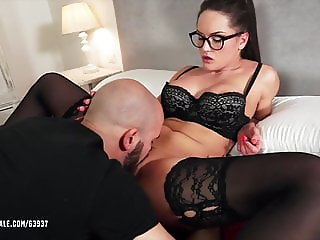 Barbara Bieber  - Dildo Man Used By Dominant Woman