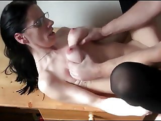 Busty Submissiver MILF Hard Sex with Stranger in Hotel Room