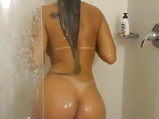 Hot girl in the shower