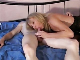 Shameless Cougar MILF with Big Tits Receives Messy Creampie