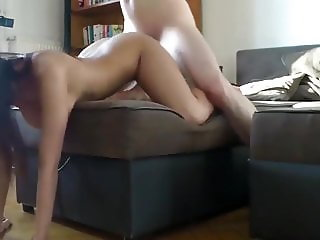 Petite & Sexy Teen Used Hard By Her Owner of an Apartment
