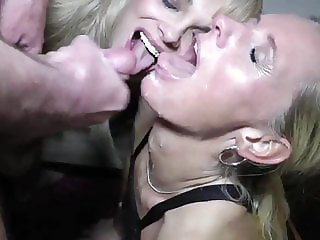Amazing Homemade Orgy Double Penetration with Shameless MILF