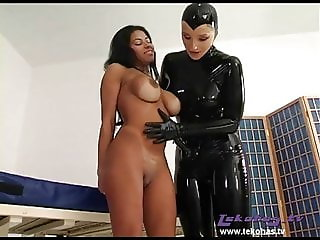 Big Tits & Strapon Fucking - Tekohas & Latex Julia