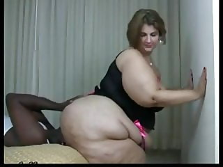 SSBBW Riding a Brothers Face