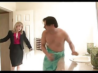 Nina Hartley the goddess Queen Legend fucks a young man