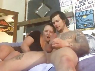 Shameless Busty MILF Takes Hot Anal Creampie By Neighbor