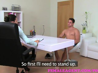 FemaleAgent. Cheating stud discovers an erect penis has no conscience