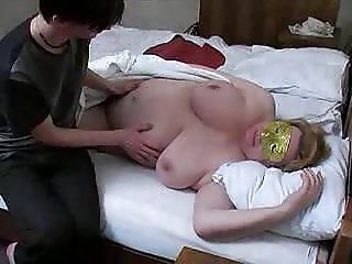 russian fat mature and boy
